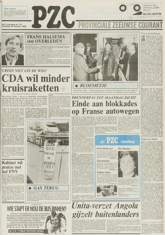 Provinciale Zeeuwse Courant 1984-02-25