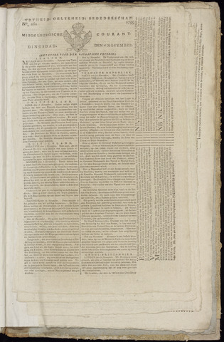 Middelburgsche Courant 1799-11-26
