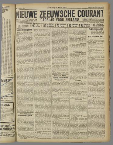 Nieuwe Zeeuwsche Courant 1923-03-22