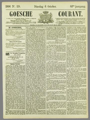 Goessche Courant 1896-10-06