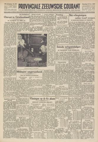 Provinciale Zeeuwse Courant 1946-11-25