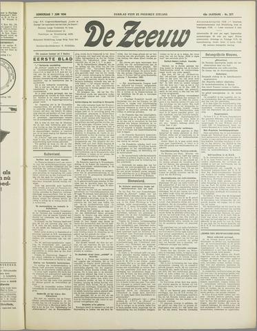 De Zeeuw. Christelijk-historisch nieuwsblad voor Zeeland 1934-06-07