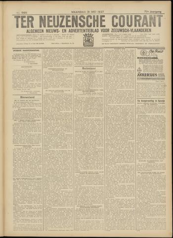 Ter Neuzensche Courant. Algemeen Nieuws- en Advertentieblad voor Zeeuwsch-Vlaanderen / Neuzensche Courant ... (idem) / (Algemeen) nieuws en advertentieblad voor Zeeuwsch-Vlaanderen 1937-05-31
