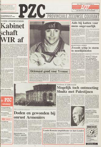 Provinciale Zeeuwse Courant 1988-02-29