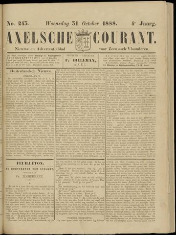 Axelsche Courant 1888-10-31