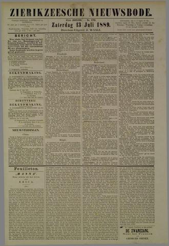 Zierikzeesche Nieuwsbode 1889-07-13