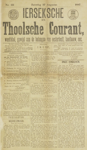 Ierseksche en Thoolsche Courant 1887-08-27