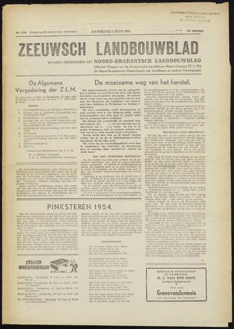 Zeeuwsch landbouwblad ... ZLM land- en tuinbouwblad 1954-06-05