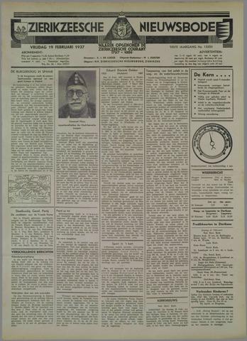 Zierikzeesche Nieuwsbode 1937-02-19