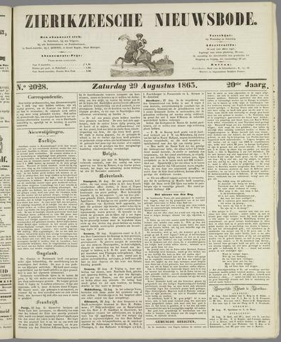 Zierikzeesche Nieuwsbode 1863-08-29
