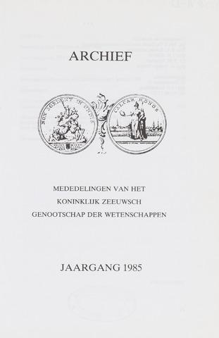 Archief 1985-01-01