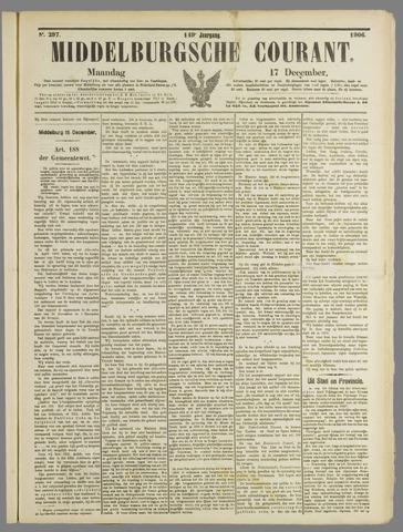 Middelburgsche Courant 1906-12-17