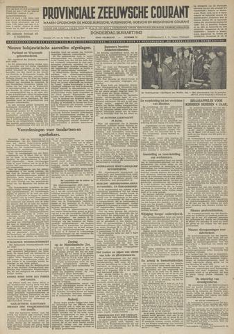 Provinciale Zeeuwse Courant 1942-03-26