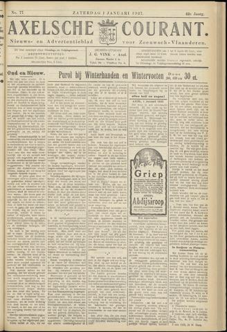 Axelsche Courant 1927