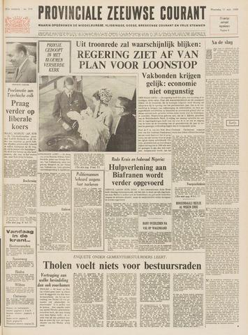 Provinciale Zeeuwse Courant 1968-09-11