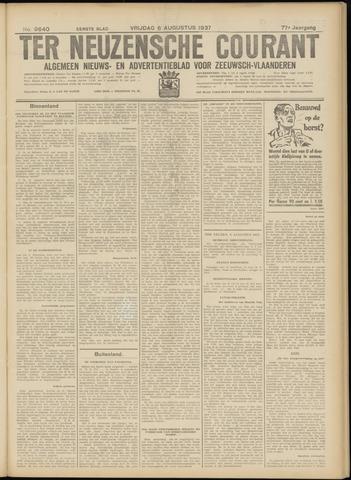 Ter Neuzensche Courant. Algemeen Nieuws- en Advertentieblad voor Zeeuwsch-Vlaanderen / Neuzensche Courant ... (idem) / (Algemeen) nieuws en advertentieblad voor Zeeuwsch-Vlaanderen 1937-08-06