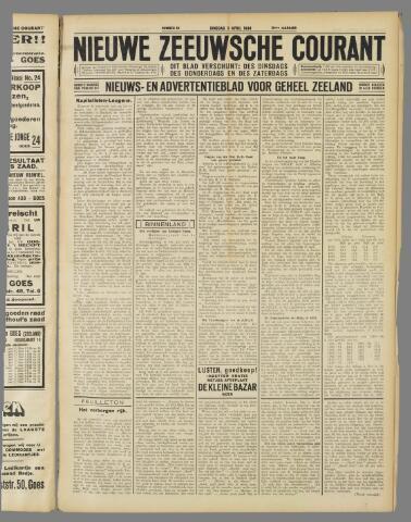 Nieuwe Zeeuwsche Courant 1934-04-03
