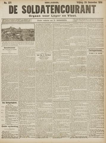 De Soldatencourant. Orgaan voor Leger en Vloot 1916-12-29