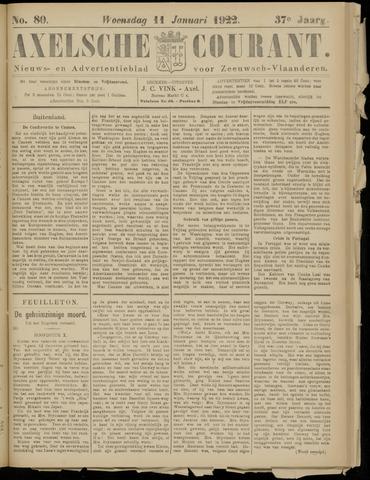 Axelsche Courant 1922-01-11