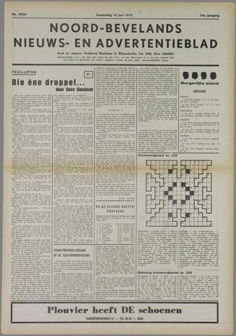Noord-Bevelands Nieuws- en advertentieblad 1973-06-14