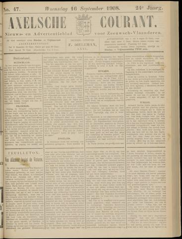Axelsche Courant 1908-09-16