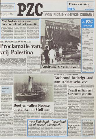 Provinciale Zeeuwse Courant 1988-08-05