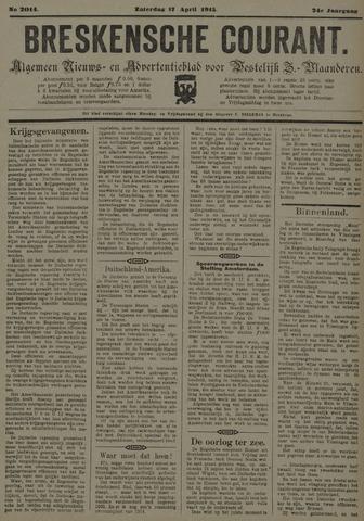 Breskensche Courant 1915-04-17