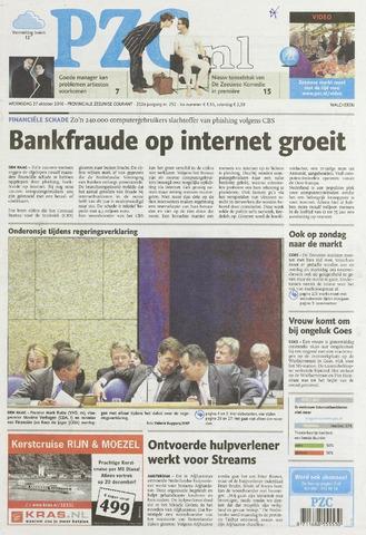Provinciale Zeeuwse Courant 2010-10-27