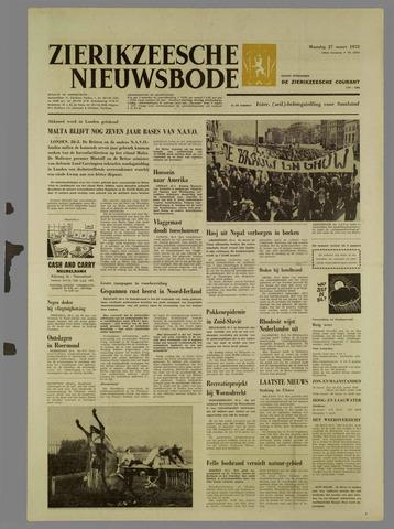 Zierikzeesche Nieuwsbode 1972-03-27