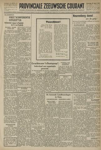 Provinciale Zeeuwse Courant 1946-04-19