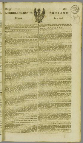 Middelburgsche Courant 1817-04-01