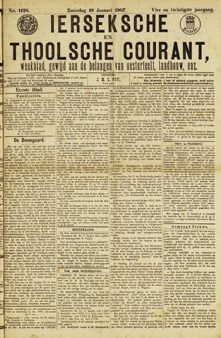 Ierseksche en Thoolsche Courant 1907-01-19