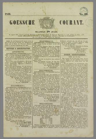 Goessche Courant 1851-07-28