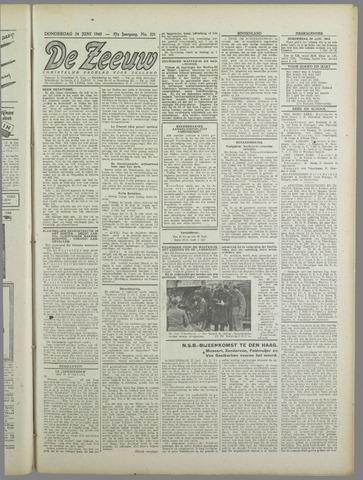 De Zeeuw. Christelijk-historisch nieuwsblad voor Zeeland 1943-06-24