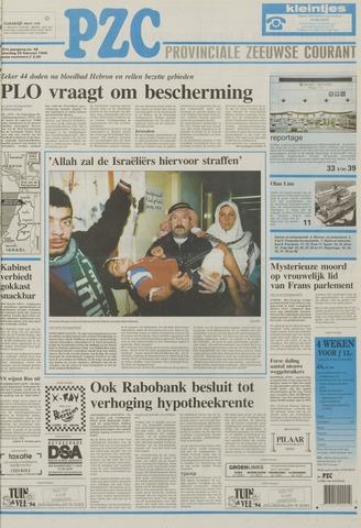 Provinciale Zeeuwse Courant 1994-02-26