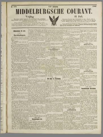 Middelburgsche Courant 1908-07-31