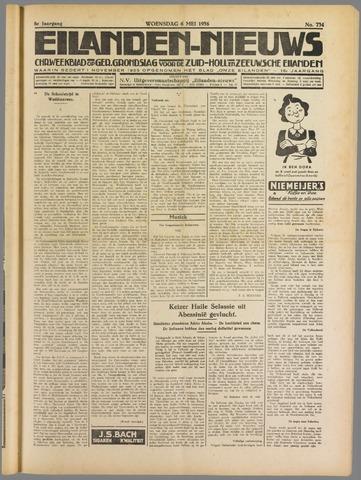 Eilanden-nieuws. Christelijk streekblad op gereformeerde grondslag 1936-05-06