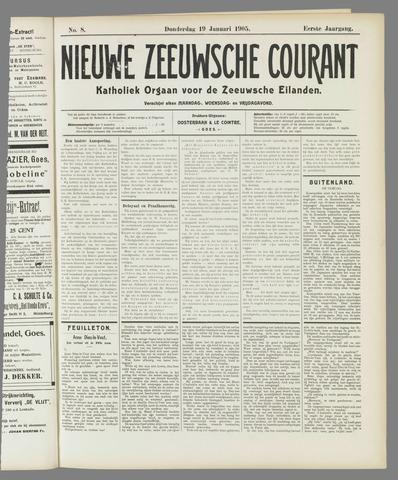 Nieuwe Zeeuwsche Courant 1905-01-19
