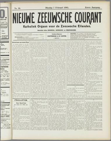 Nieuwe Zeeuwsche Courant 1905-02-07