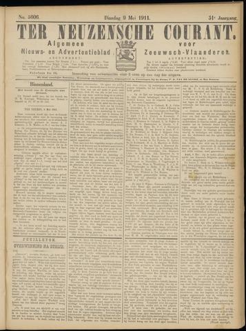 Ter Neuzensche Courant. Algemeen Nieuws- en Advertentieblad voor Zeeuwsch-Vlaanderen / Neuzensche Courant ... (idem) / (Algemeen) nieuws en advertentieblad voor Zeeuwsch-Vlaanderen 1911-05-09