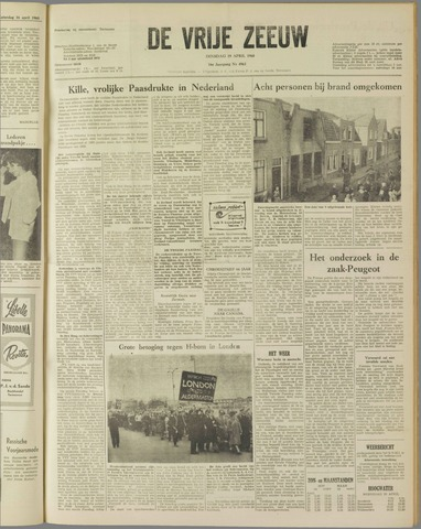 de Vrije Zeeuw 1960-04-19