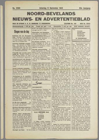 Noord-Bevelands Nieuws- en advertentieblad 1948-09-11
