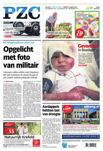 Provinciale Zeeuwse Courant 2015-08-11