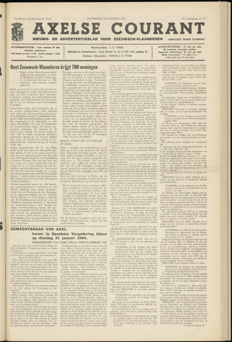 Axelsche Courant 1964-01-25