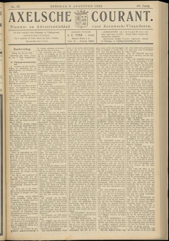 Axelsche Courant 1932-08-09