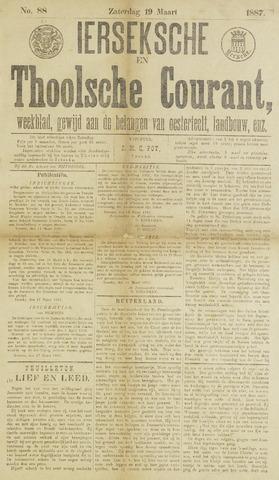 Ierseksche en Thoolsche Courant 1887-03-19