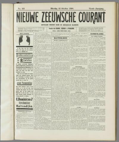 Nieuwe Zeeuwsche Courant 1908-10-13