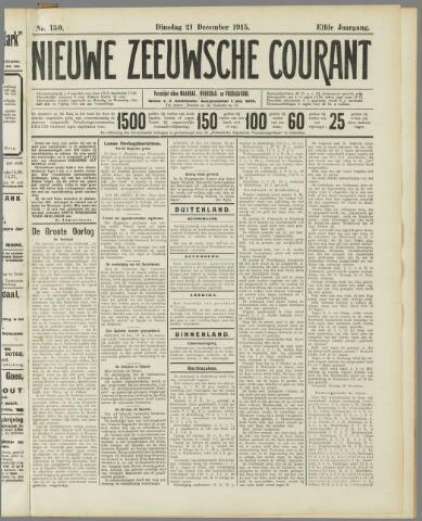Nieuwe Zeeuwsche Courant 1915-12-21