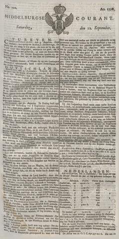 Middelburgsche Courant 1778-09-12