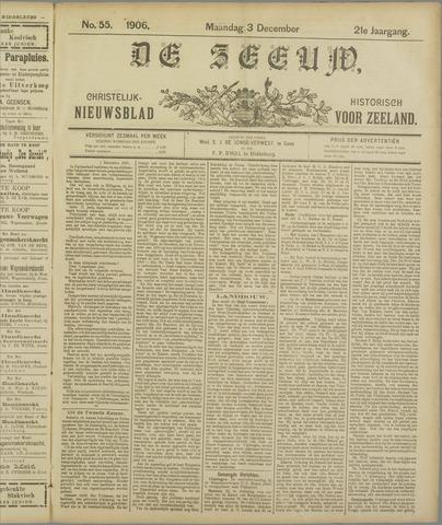 De Zeeuw. Christelijk-historisch nieuwsblad voor Zeeland 1906-12-03